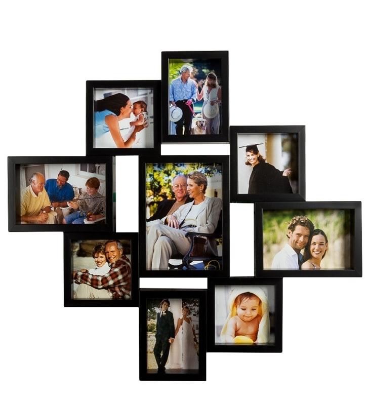 Рамки для фото своими руками из нескольких рамок