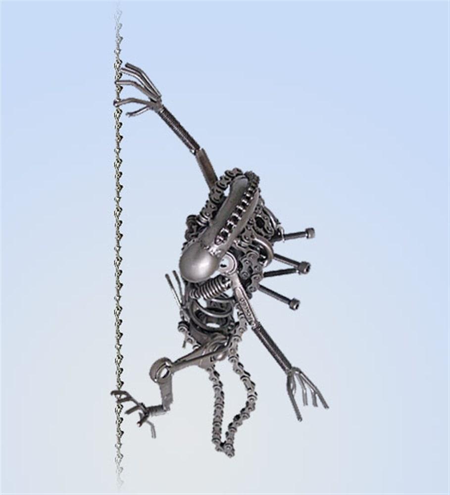 Поделки из металлических цепей