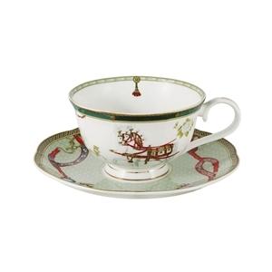 Посуда для чая из костяного фарфора