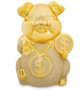 Золотые денежные свиньи