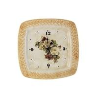 Настенные часы «Роза и малина»