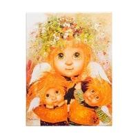 Жикле на холсте «Материнская любовь» ANG-54
