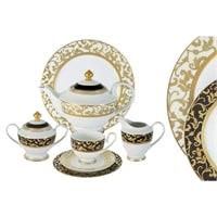 Чайный сервиз из фарфора на 12 персон «Толедо»