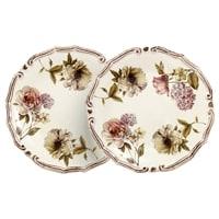 Набор из 2-х десертных тарелок «Сады Флоренции»