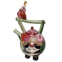 Заварочный чайник «Кот Кланси и птичка» BS-115