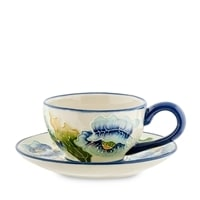 Чайная пара «Голубые маки» BS-243