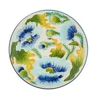 Блюдо «Голубые маки» BS-244