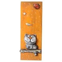 Панно «Кот» шамот KK-512