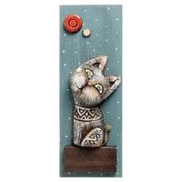 Панно «Кот» шамот KK-513