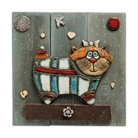 Панно «Кот» шамот KK-525