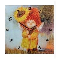 Часы «Вася с подсолнухом» ANG-149