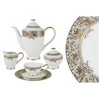 Чайный сервиз из костяного фарфора на 6 персон «Сказка»