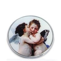 Зеркальце «Амур и Психея Дети» Вильям Бугро pr-M06BO (Museum. Parastone)