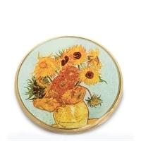 Зеркальце «Подсолнухи» Ван Гог pr-M07GO (Museum. Parastone)