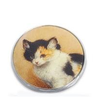 Зеркальце «Пробуждение котенка» Генриетта Роннер-Книп pr-M17RK (Museum. Parastone)