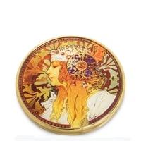 Зеркальце «Византийские головы: Блондинка» Альфонс Муха pr-M22MU (Museum. Parastone)