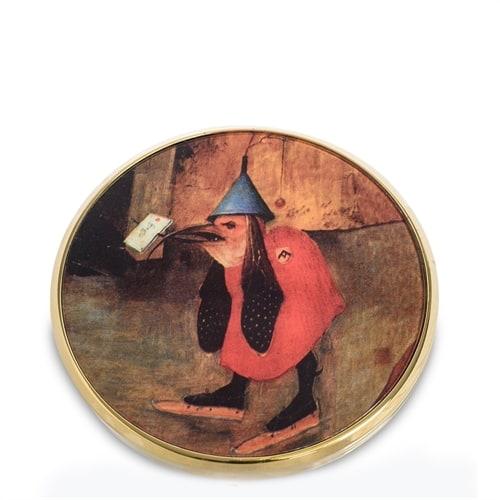 Зеркальце «Искушение Святого Антония» Иероним Босх, фрагмент pr-M25JB (Museum. Parastone)