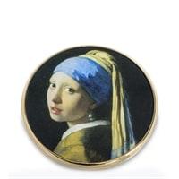 Зеркальце «Девушка с жемчужной сережкой» Ян Вермеер pr-M28VE (Museum. Parastone)