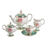 Чайный сервиз из фарфора  на 6 персон «Амелия» M-221000