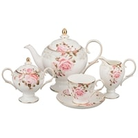 Чайный сервиз из фарфора на 6 персон «Амелия»
