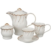 Чайный сервиз из фарфора на 6 персон «Зефир»