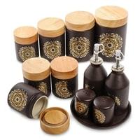 Набор керамических банок для специй TJ-04
