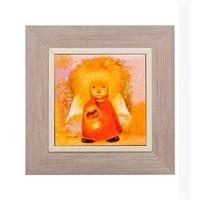 Панно керамическое «Ангел освещающий жизненный путь» ANG-41