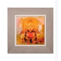 Панно керамическое «Ангел любящего сердца» ANG-102