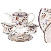 Чайный сервиз из костяного фарфора на 12 персон «Королева Анна»