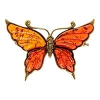 Брошь «Бабочка Нитта» AM-2082