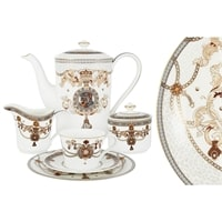 Чайный сервиз из костяного фарфора на 6 персон «Принц Эдвард»