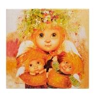 Жикле на холсте «Материнская любовь» ANG-352