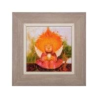 Панно керамическое «Ангел заветного счастья» ANG-104