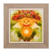 Панно керамическое «Солнечный ангел» ANG-409