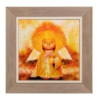 Панно керамическое «Ангел процветания» ANG-410
