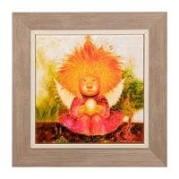 Панно керамическое «Ангел заветного счастья» ANG-412