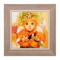 Панно керамическое «Материнская любовь» ANG-413