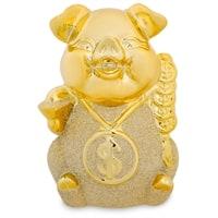 Копилка «Золотая свинка - к деньгам» GP-09