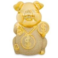 Копилка «Золотая свинка - к деньгам» GP-10