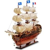 Модель французского линейного корабля «Le Royal Louis» 1668 г SP-03