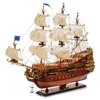 Модель французского линейного корабля «Le Soleil Royal» 1669 г SP-04
