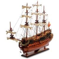 Модель испанского линейного корабля «San Felipe» 1690 г SP-07