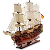 Модель испанского линейного корабля «Santa Ana» 1784 г SP-09