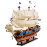 Модель российского линейного корабля «Goto Predestinatsia» 1700 г SP-18