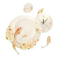 Часы настенные «Карпы кои» ART-216