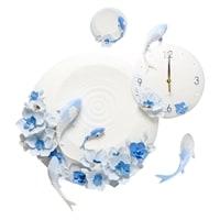 Часы настенные «Карпы кои» ART-217