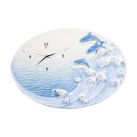 Часы настенные «Дельфины на гребне волны» ART-318