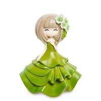 Копилка «Девочка в зеленом платье» MF-03