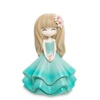 Копилка «Девочка в голубом платье» MF-06