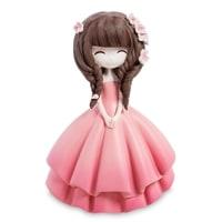 Копилка «Девочка в розовом платье» MF-09
